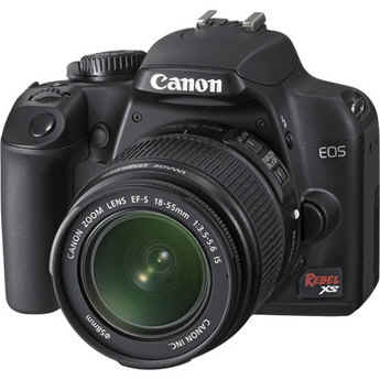Canon EOS Rebel XS (a.k.a. 1000D) SLR Digital Camera Kit (Black) with 18-55mm IS Lens