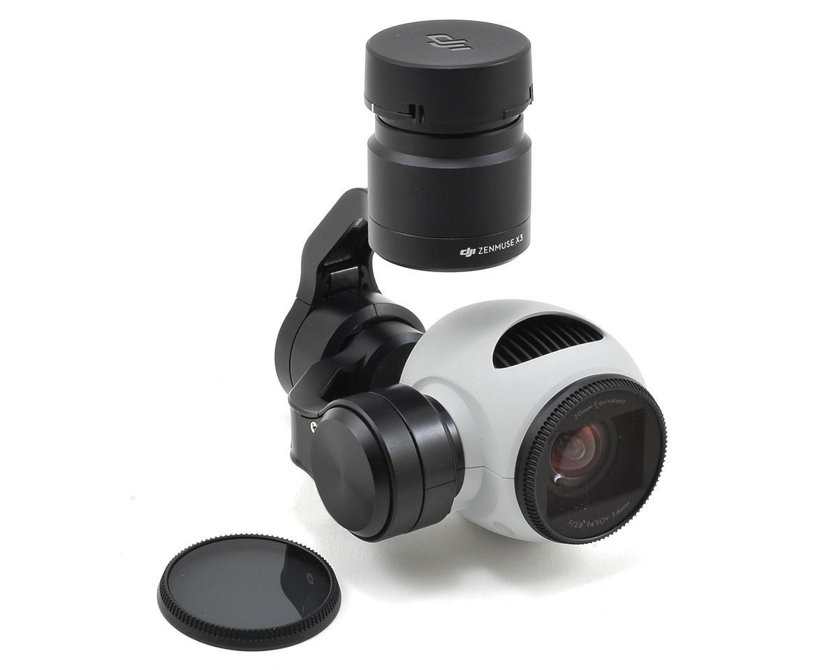 DJI-X3-B-G-NIR: DJI Zenmuse X3 Camera Blue-Green-NIR 680-800nm