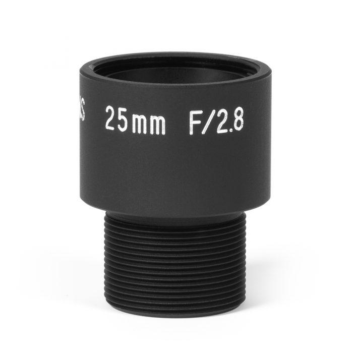 M12-UV-25mm: M12 Quartz Lens Assembly 25mm